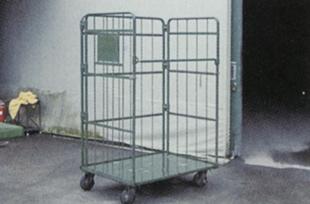 アルミバン回収用ロールボックスパレット